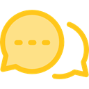 Multimedia, Chat, Communication, speech bubble, Conversation, Seo And Web Khaki icon