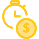 Clock, time, watch, tool, Money, Tools And Utensils, Seo And Web Gold icon