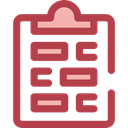 notepad, writing, survey, Seo And Web Sienna icon
