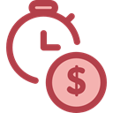 Clock, time, watch, tool, Money, Tools And Utensils, Seo And Web Sienna icon