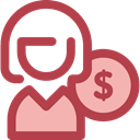 people, user, Money, profile, Avatar, Social Sienna icon