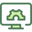 Computer, settings, configuration, cogwheel, Tools And Utensils, Gear Icon