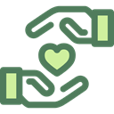 love, Loyalty, Gestures, Hand Gesture, Seo And Web, Heart DimGray icon