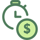 Tools And Utensils, Seo And Web, Clock, time, watch, tool, Money Icon