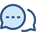 Communication, speech bubble, Conversation, Seo And Web, Multimedia, Chat Lavender icon