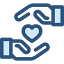 love, Loyalty, Gestures, Hand Gesture, Seo And Web, Heart DarkSlateBlue icon
