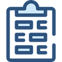 notepad, writing, survey, Seo And Web DarkSlateBlue icon