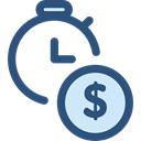 Seo And Web, watch, tool, Money, Tools And Utensils, Clock, time DarkSlateBlue icon