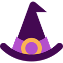 halloween, horror, Terror, witch, spooky, scary, fear Indigo icon