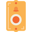 Bell Ring, ui, Calling, ring, Tools And Utensils, miscellaneous, notification SandyBrown icon