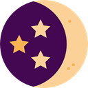 night, sleep, nature, Rest, medical, Moon, halloween, Sleeping, Health Care Indigo icon