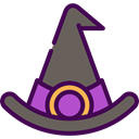 halloween, horror, Terror, witch, spooky, scary, fear DimGray icon