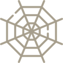 halloween, cobweb, Spider Web, web, interface RosyBrown icon