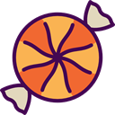 sweet, Lollies, Food And Restaurant, food, Candy, sugar, Dessert Indigo icon