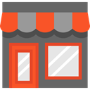 food, Commerce And Shopping, Business, store, commerce, Shop DimGray icon