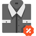 Shirt, Clothes, clothing, Discount, fashion, Elegant, Masculine, Tie DimGray icon
