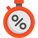Chronometer, Wait, Tools And Utensils, Time And Date, time, stopwatch, timer, interface Gainsboro icon