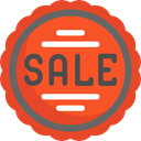 star, Design, commerce, Badge, sticker, sale, Discount, percentage, signs, Badges, Commerce And Shopping Tomato icon