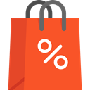 Business, commerce, shopping, Bag, shopping bag, Supermarket, Shopper, Commerce And Shopping Tomato icon