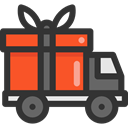 Delivery, transportation, truck, transport, vehicle, Automobile, Delivery Truck, Cargo Truck Icon