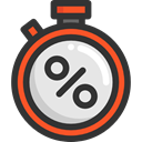 time, Wait, Tools And Utensils, Time And Date, stopwatch, timer, interface, Chronometer DarkSlateGray icon
