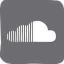 doodle, Soundcloud, socialmedia, social media DimGray icon