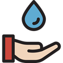 weather, Rain, drop, water, nature, Teardrop, raindrop, Ecology And Environment, miscellaneous Black icon