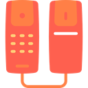 telephone, technology, phone receiver, phones, phone call, Telephone Call Tomato icon