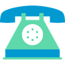 phone receiver, phones, phone call, Telephones, telephone, technology DarkTurquoise icon