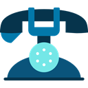 phones, phone call, Telephones, telephone, technology, phone receiver Icon