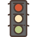 stop, light, Business, Traffic light, Road sign, buildings, Signaling, Stop Signal, Architecture And City DarkSlateGray icon