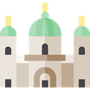 Architectonic, Berlin Cathedral, christian, landmark, Monuments LightGray icon