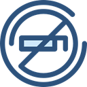 forbidden, no smoking, Smoke, Cigarette, prohibition, signs, Signaling, Unhealthy DarkSlateBlue icon