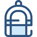 travel, Backpack, luggage, baggage, Bags DarkSlateBlue icon