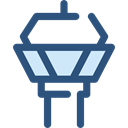security, Airport, tower, buildings, Air Traffic, Control Tower, Architecture And City DarkSlateBlue icon