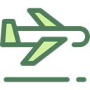 flight, Aeroplane, airplane, Airport, transportation, Plane, transport DimGray icon