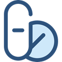 medicine, Pharmacy, pills, medical, Tablet, drugs DarkSlateBlue icon