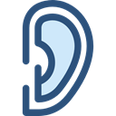 Sound Waves, Sound Bars, listening, ears, Ear, deaf, medical, listen DarkSlateBlue icon