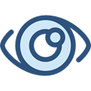 Ophthalmology, medical, Eye, optical, vision DarkSlateBlue icon