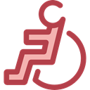 Access, wheelchair, handicap, Tools And Utensils, Disabled, hospital, disability Sienna icon