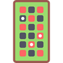 chips, Casino, gambling, Rectangular, gambler LightGreen icon
