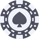 Money, Casino, Bet, gambling, gambler DimGray icon