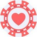 Money, luck, Casino, Bet, gambling, gambler Tomato icon