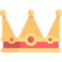 shapes, Queen, monarchy, Royalty, Royal Crown SandyBrown icon