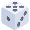 Game, luck, Casino, gambling, gambler LightGray icon