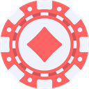 chips, luck, Casino, Bet, gambling, gambler AliceBlue icon