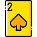 poker, gaming, Spades, Casino, Bet, gambling Gold icon