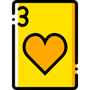 Cards, poker, Hearts, gaming, Casino, Bet, gambling Icon