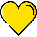 gaming, shapes, Casino, poker, Game, Hearts Gold icon