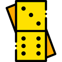 Game, gaming, Pieces, leisure, domino Icon